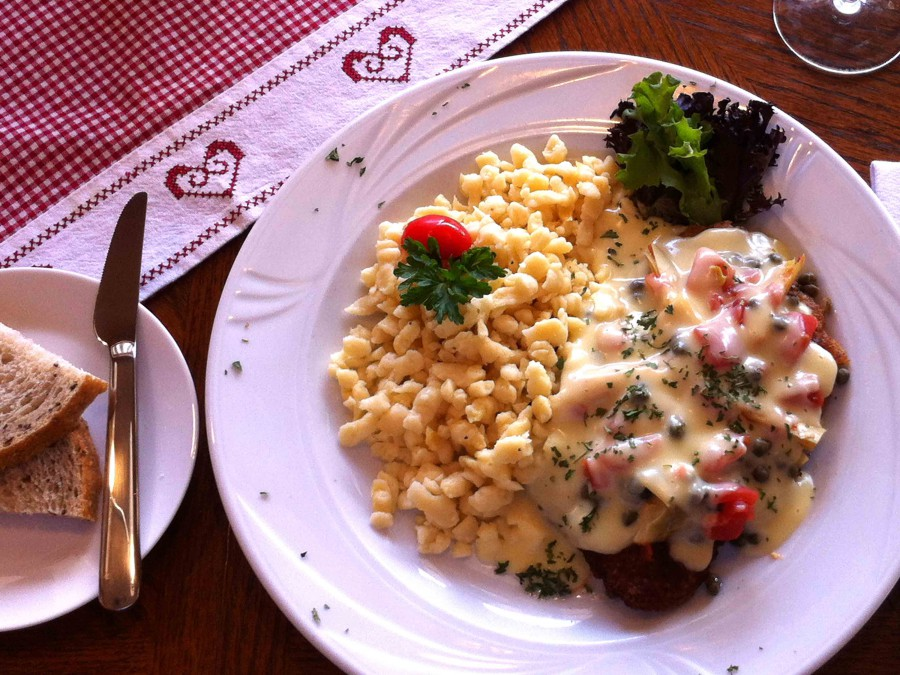 Schnitzel Tuscany