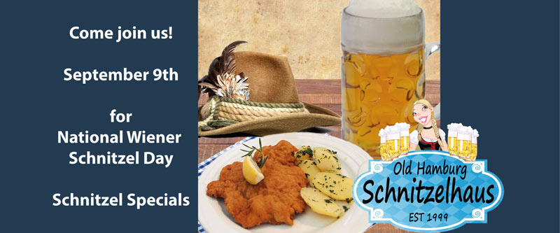 Schnitzel Day – September 9, 2016