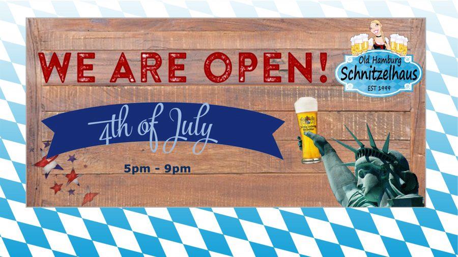 Open July 4th