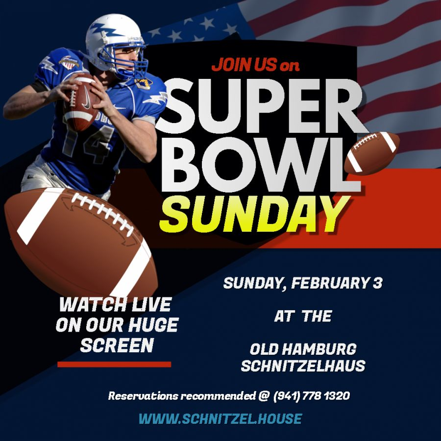 Join us for Super Bowl 2019