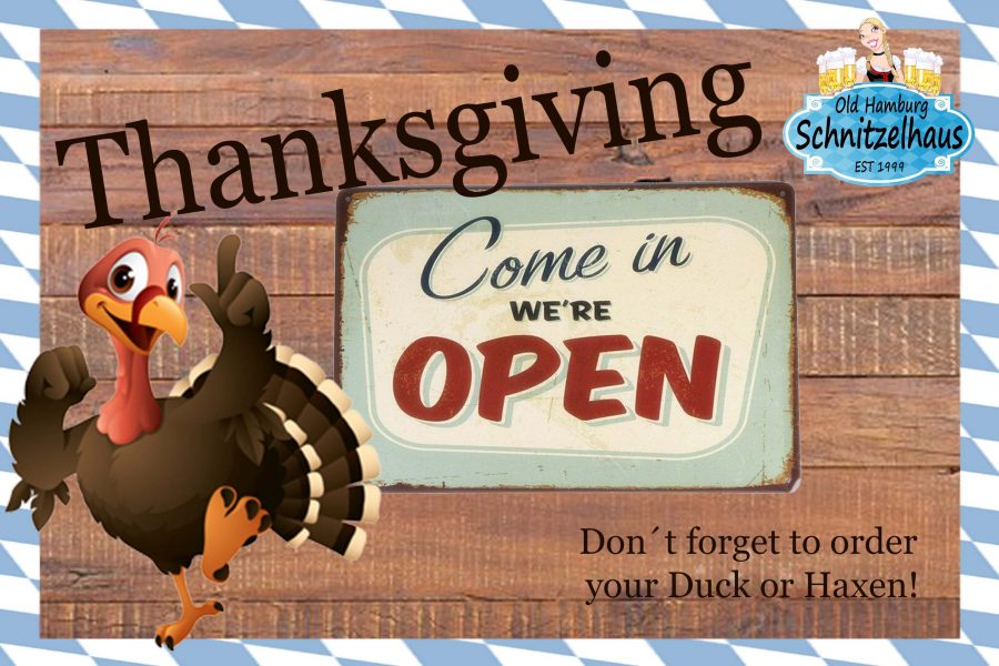 Open Thanksgiving